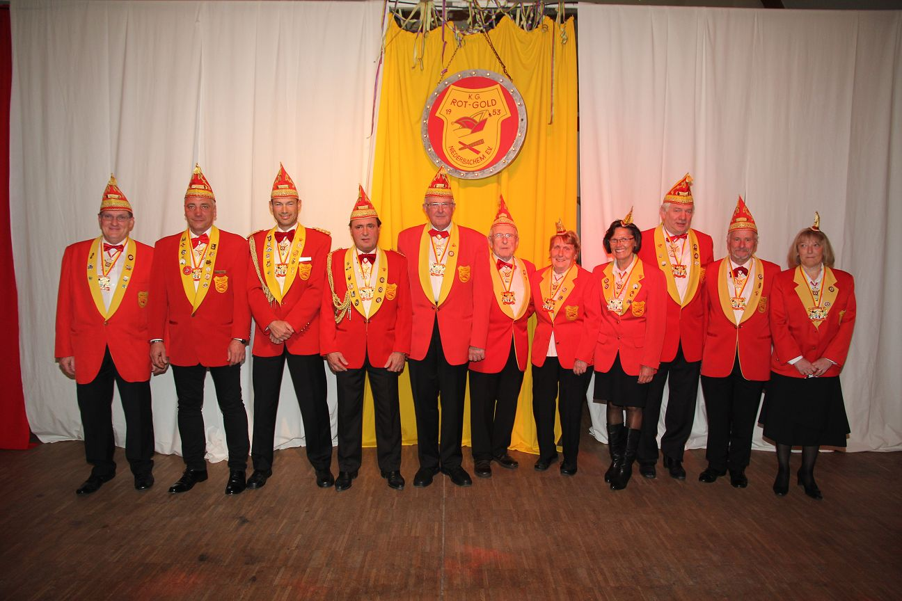 Senat der KG Niederbachem 2013